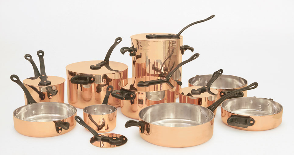 Pure copper cookware by Brooklyn Copper Cookware