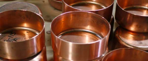 Purified copper cookware from Brooklyn Copper Cookware