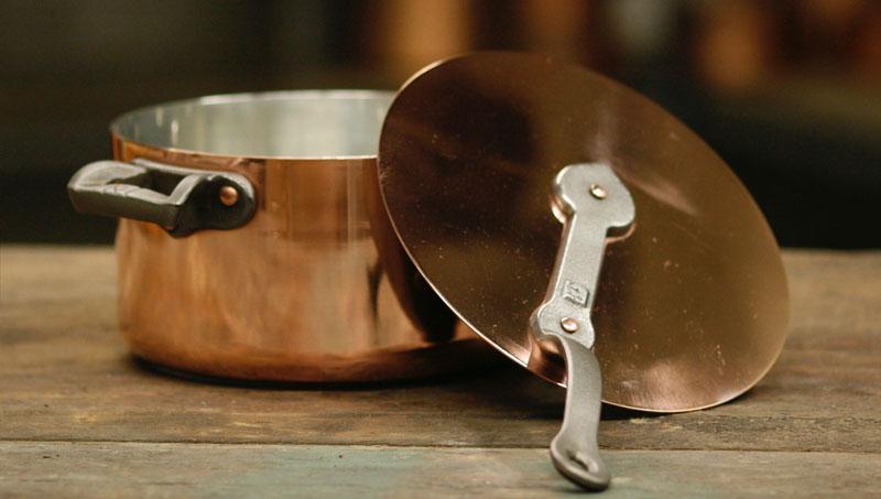 Casserole cookware from Brooklyn Copper Cookware